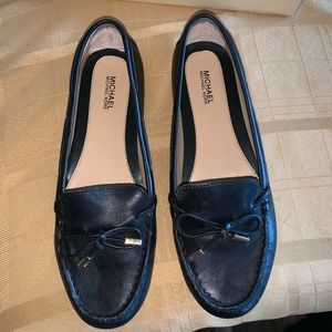 Women's Michael Kors Black Loafers Size 7.5